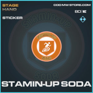 Stamin-Up Soda sticker in Warzone and Cold War