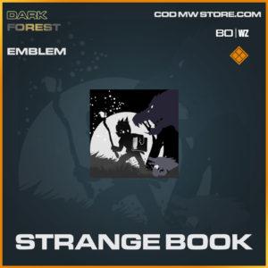 Strange Book emblem in Warzone and Cold War