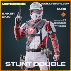 Stunt Double Baker Skin in Warzone and Cold War