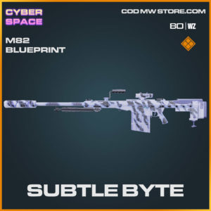 Subtle Byte M82 blueprint skin in Warzone and Cold War