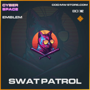 Swat Patrol emblem in Warzone and Cold War