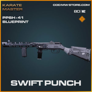 Swift Punch PPSh-41 blueprint skin in Warzone and Cold War