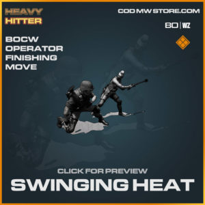 Swinging Heat Finishing Move in Warzone and Cold War