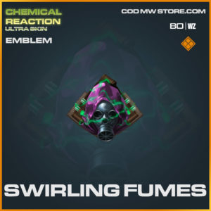Swirling Fumes emblem in Warzone and Cold War
