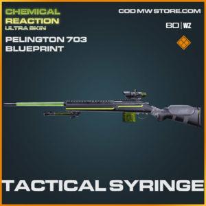 Tactical syringe Pelington 703 blueprint skin in blueprint skin in Warzone and Cold War