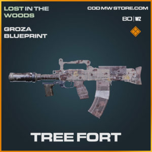 Tree Fort blueprint skin in Warzone and Cold War