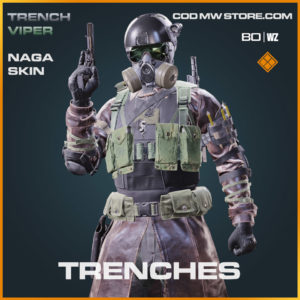 Trenches Naga Skin in Warzone and Cold War