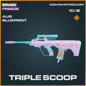 Triple Scoop AUG blueprint skin in Warzone and Cold War