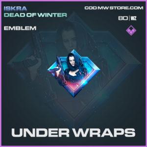 Under Wraps emblem in Warzone and Modern Warfare