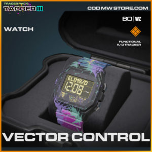 Vector Control watch in Warzone and Cold War