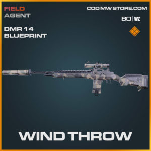 Wind Throw DMR 14 blueprint skin in Warzone and Cold War