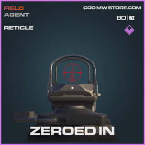 Zeroed In reticle in Warzone and Cold War