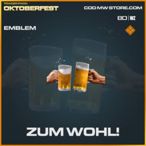 Zum Wohl emblem in Warzone and Cold War
