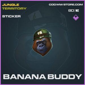 Banana Buddy sticker in Warzone and Cold War