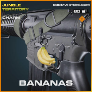 Bananas charm in Warzone and Cold War