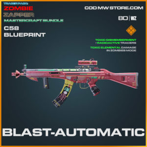 Blast-Automatic C58 blueprint skin in Warzone and Cold War