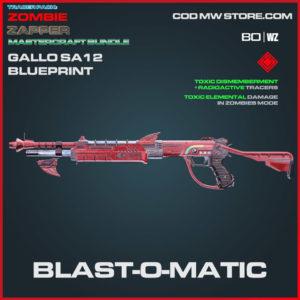 Blast-O-Matic Gallo SA12 blueprint skin in Warzone and Cold War