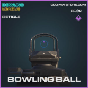 Bowling ball epic reticle in Warzone and Cold War