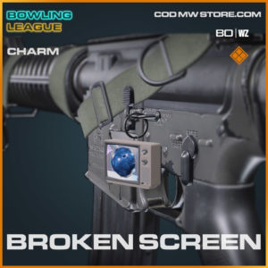 broken screen legendary charm in Warzone and Cold War