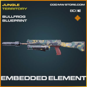 Embedded Element bullfrog blueprint skin in Warzone and Cold War