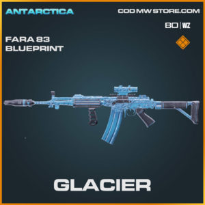 Glacier Legendary Fara 83 blueprint in Warzone and Cold War