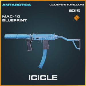 Icicle Legendary Mac-10 Blueprint in Warzone and Cold War