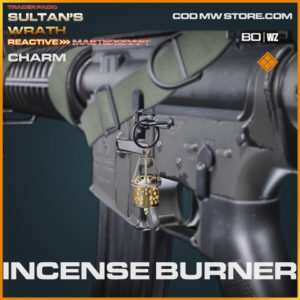Incense Burner charm in Warzone and Cold War
