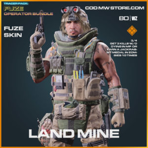 Land Mine Fuze skin in Warzone and Cold War