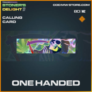 One Handed calling card in Warzone and Cold War