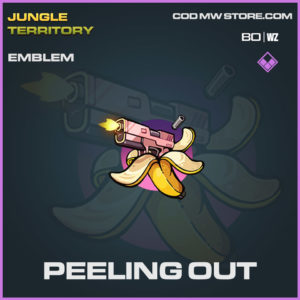 Peeling Out emblem in Warzone and Cold War