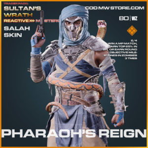 Pharaoh's Reign Salah skin in Warzone and Cold War