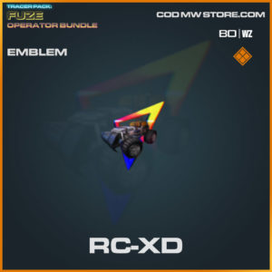 RC-XD emblem in Warzone and Cold War