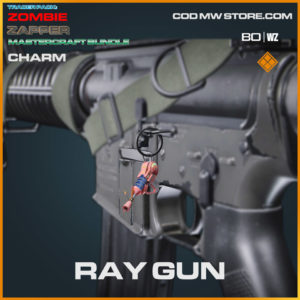 Ray Gun Charm in Warzone and Cold War
