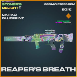 Reaper's Breath CARV.2 blueprint skin in Warzone and Cold War