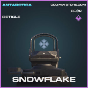 snowflake reticle in Warzone and Cold War