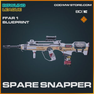 spare snapper ffar 1 blueprint legendary skin in Warzone and Cold War
