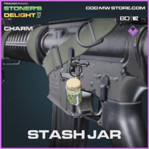 Stash Jar charm in Warzone and Cold War