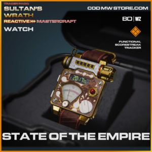 State of the empire watch in Warzone and Cold War