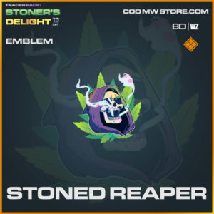 Stoned Reaper emblem in Warzone and Cold War