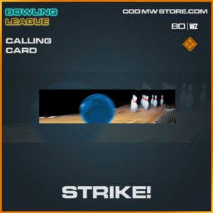 strike! legendary calling card in Warzone and Cold War