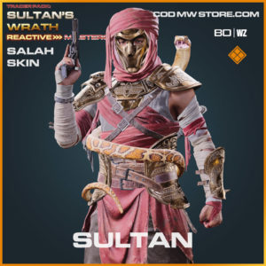 Sultan Salah Skin in Warzone and Cold War