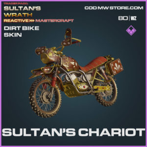 Sultan's Chariot Dirt Bike Skin in Warzone and Cold War