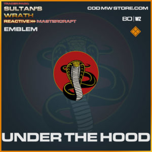 Under The Hood emblem in Warzone and Cold War