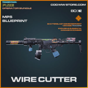 Wire Cutter MP5 blueprint skin in Warzone and Cold War