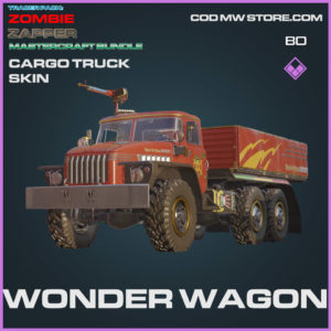 Wonder Wagon Cargo Truck skin in Warzone and Cold War