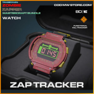 Zap Tracker watch in Warzone and Cold War