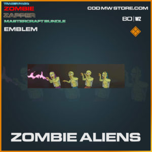 Zombie Aliens emblem in Warzone and Cold War